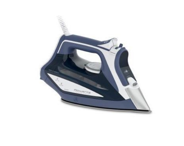 Rowenta DW5210 Ferro da stiro a secco e a vapore Acciaio inossidabile Blu, Bianco 2600 W