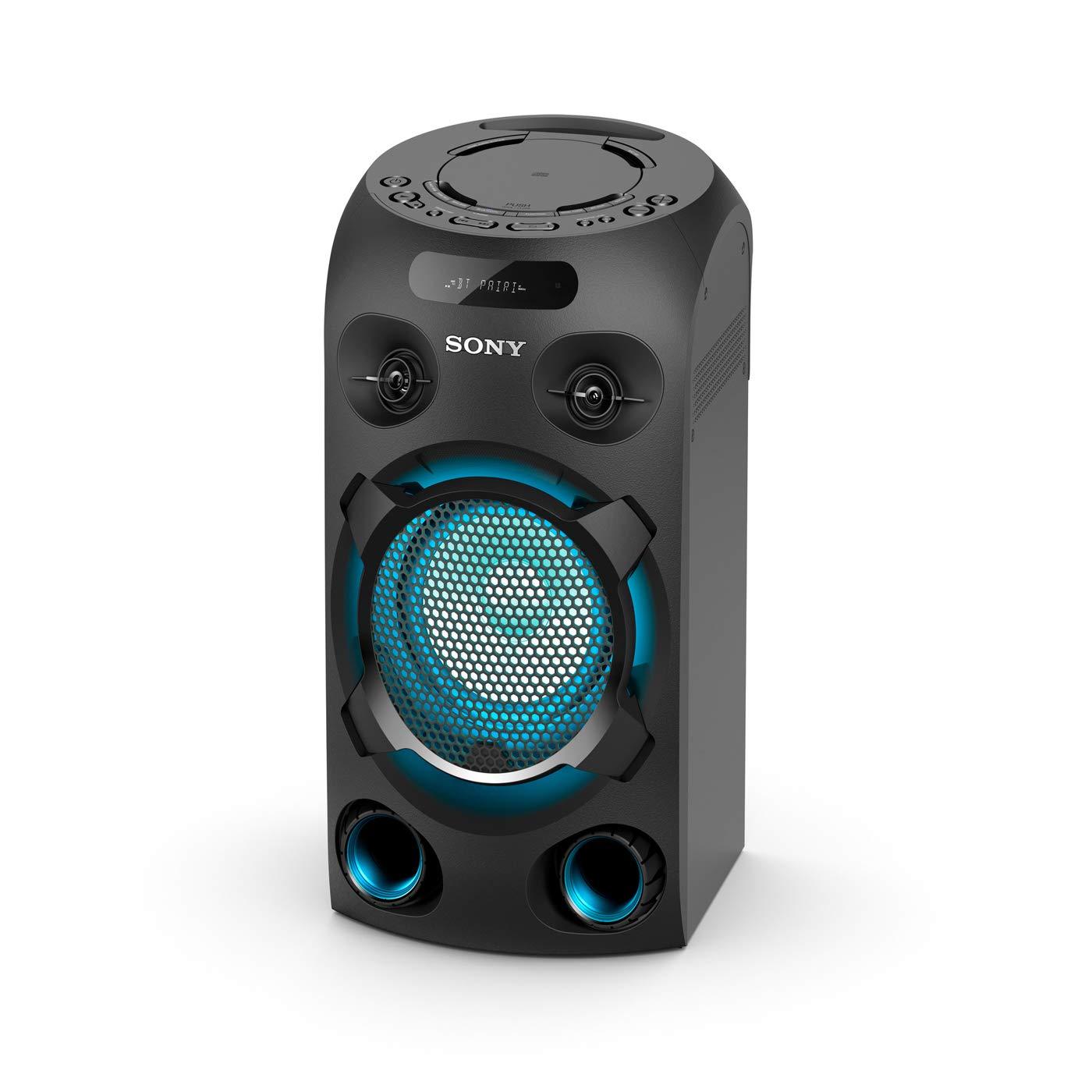 Sony MHC-V02 Torre Nero