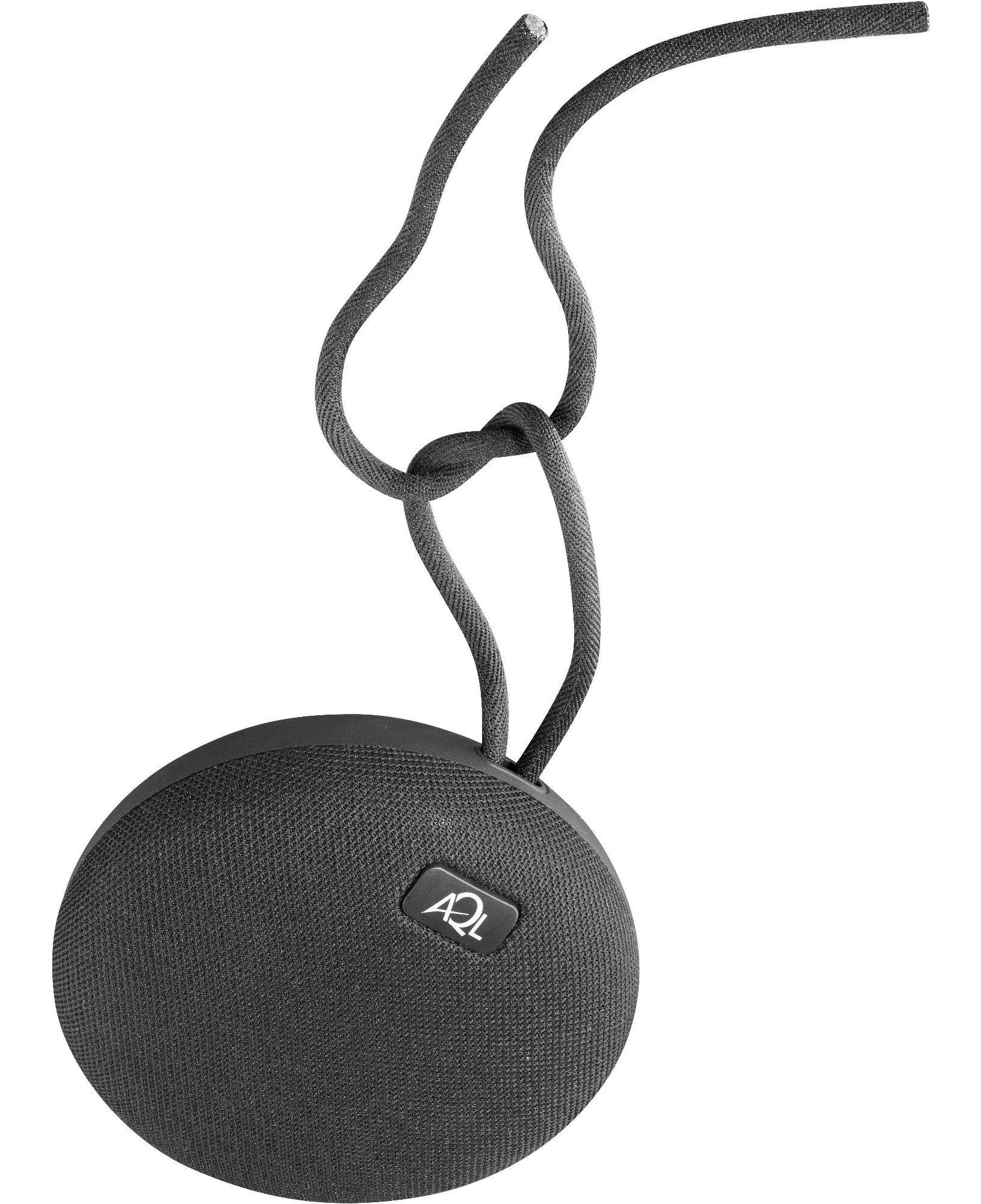 AQL Plump - Universale Speaker Bluetooth® portatile resistente all'acqua Nero