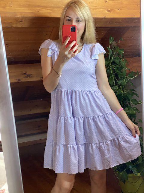 Vestito Pois con Balze 3 colori