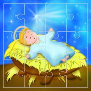 Mini puzzle Gesù Bambino