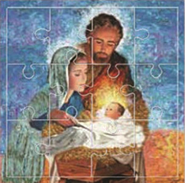 Mini puzzle Sacra Famiglia 9x9