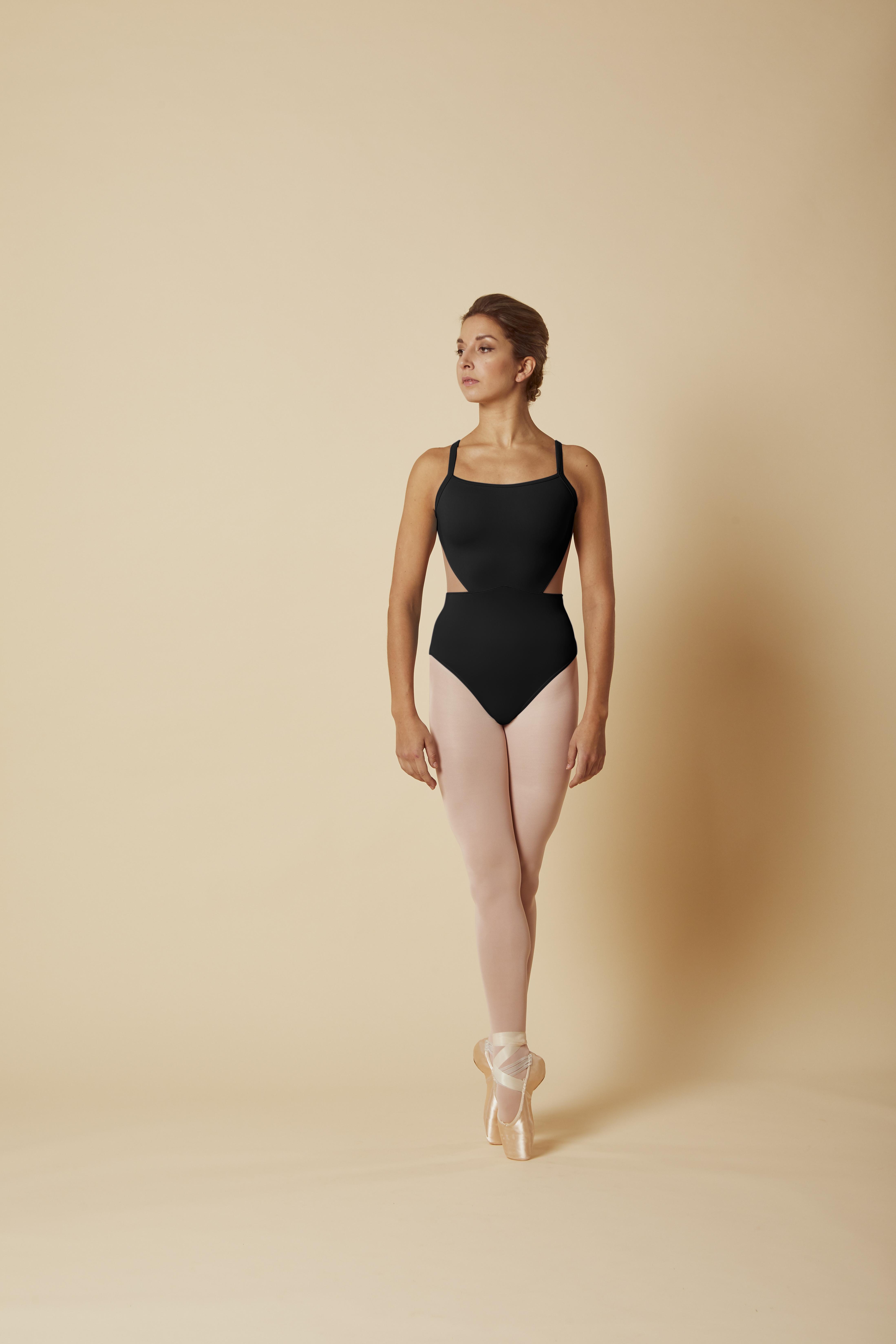 Body Mirella collezione Spring2020 con scollo profondo in retina ricamata