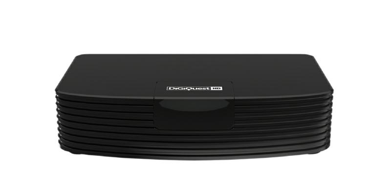 Digiquest DGQ700 HD set-top box TV Terrestre Full HD Nero