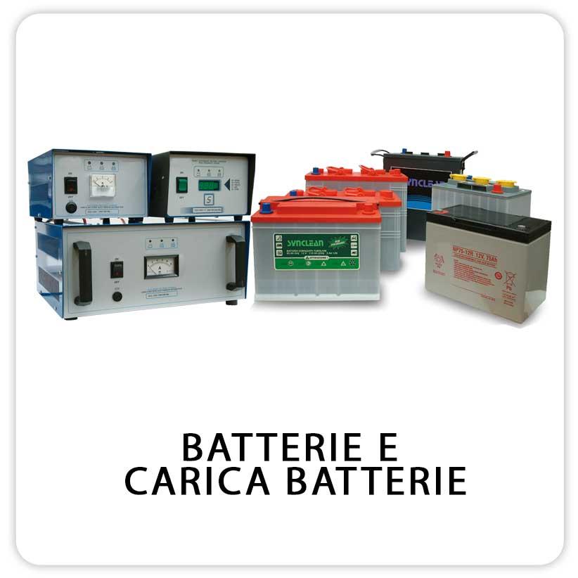 Batterie e Carica per Lavapavimenti e Lavasciauga