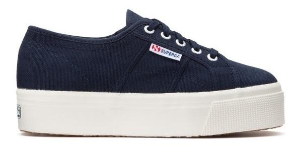 Sneaker Donna Superga S0001L0 933 NAVY  -15/17