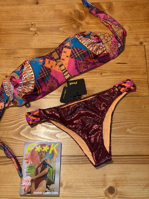 Bikini fascia  e slip fianco fisso Melting Pot Effek Taglia LG