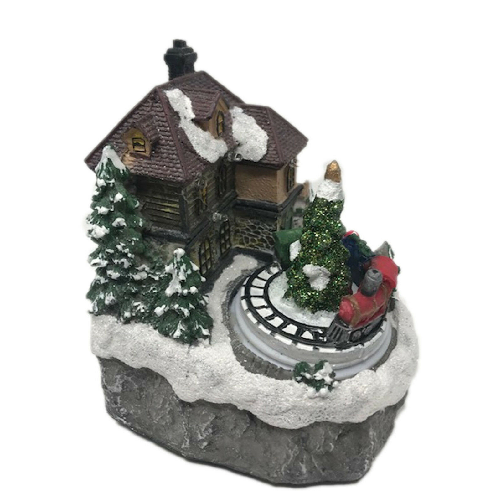 Angeli Cherubino neve Globe ~ Musical ~ Wind up ~ Indoor ~ Decorazione natalizia JR-1340