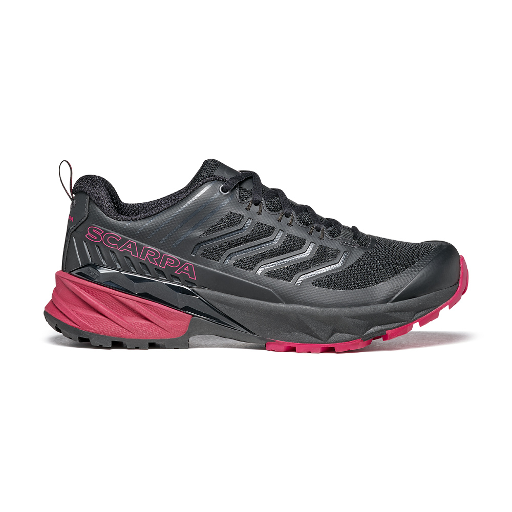 RUSH WOMAN  -   Fast hiking su multi-terrain, medie e lunghe distanze  -  Black-Cherry
