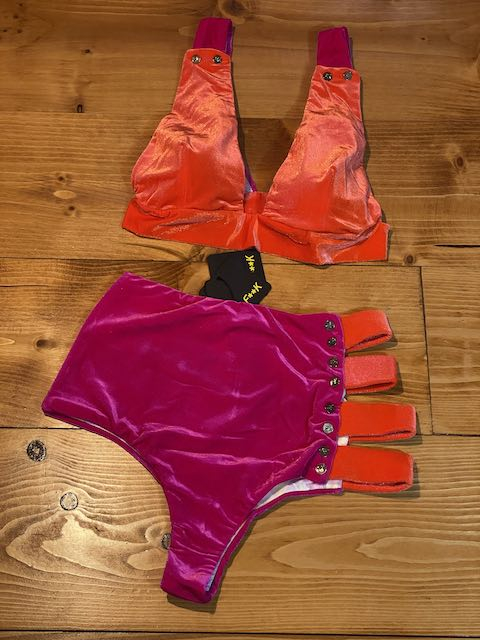 Bikini Triangolo Sport e slip Retrò Tinted Effek