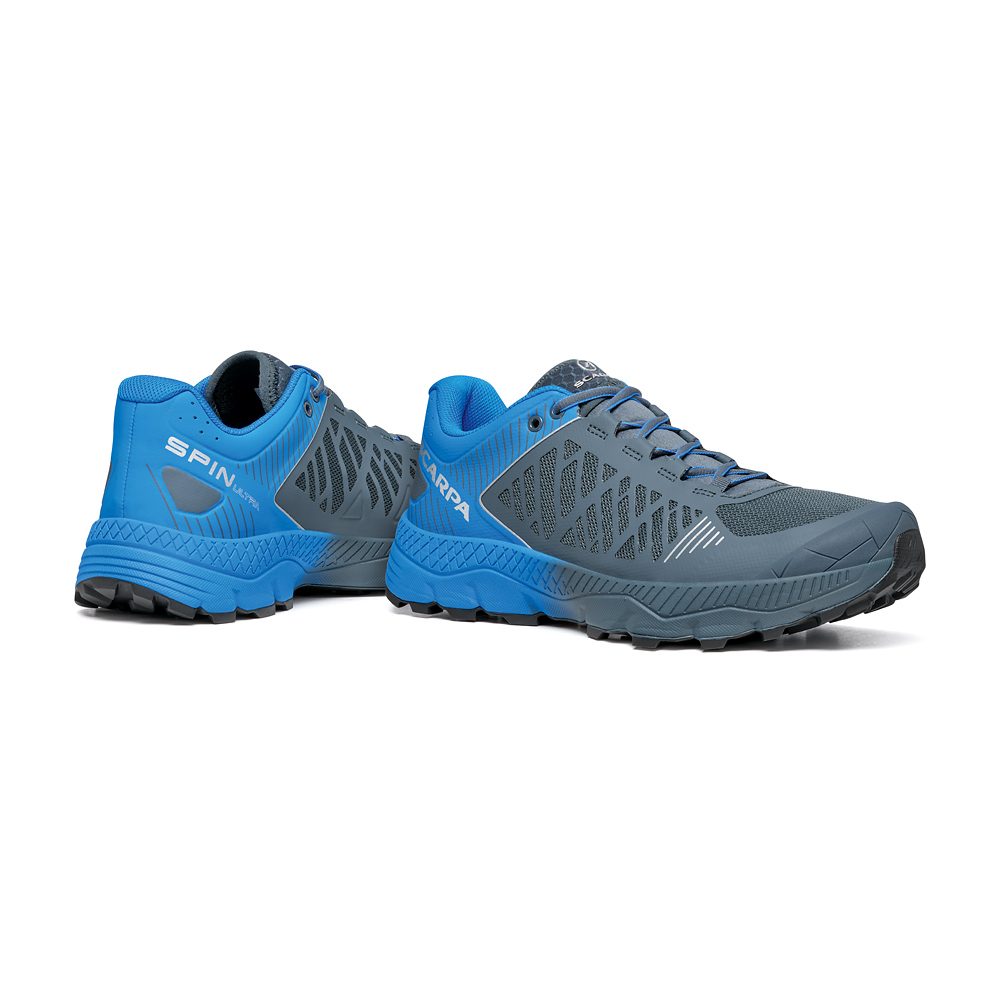 SPIN ULTRA      -   Trail Running per lunghe distanze   -   Iron Gray-Vivid Blue