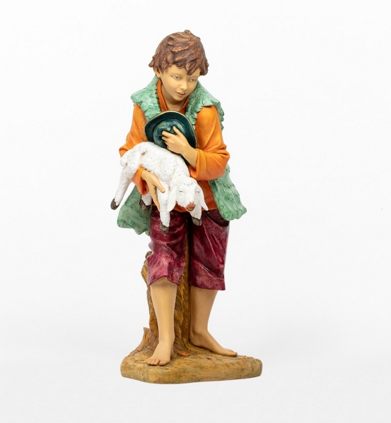 Bimbo con agnello cm. 125
