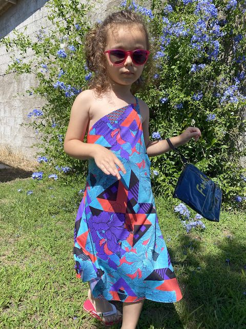 Vestito corto Effek Junior monospalla Melting Pot