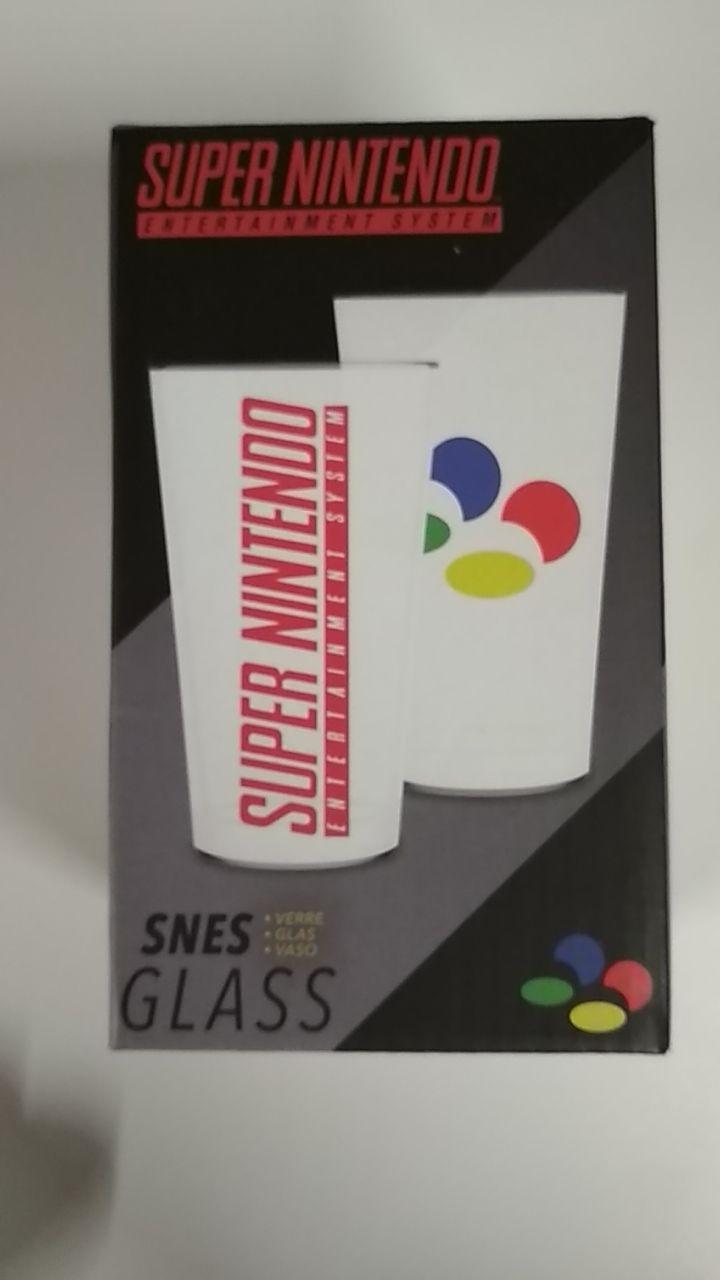 SNES GLASS - Bicchiere Super Nintendo