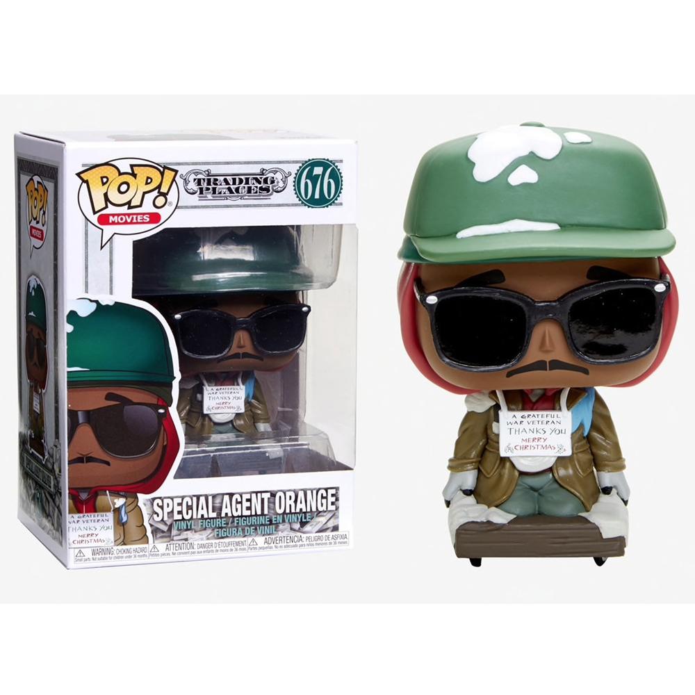 Funko Pop - Trading Places - Special Agent Orange - 676