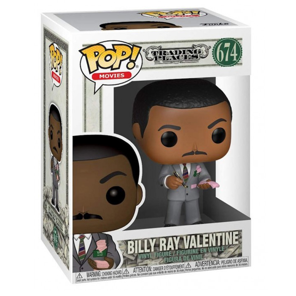 Funko Pop - Trading Places - Billy Ray Valentine - 674