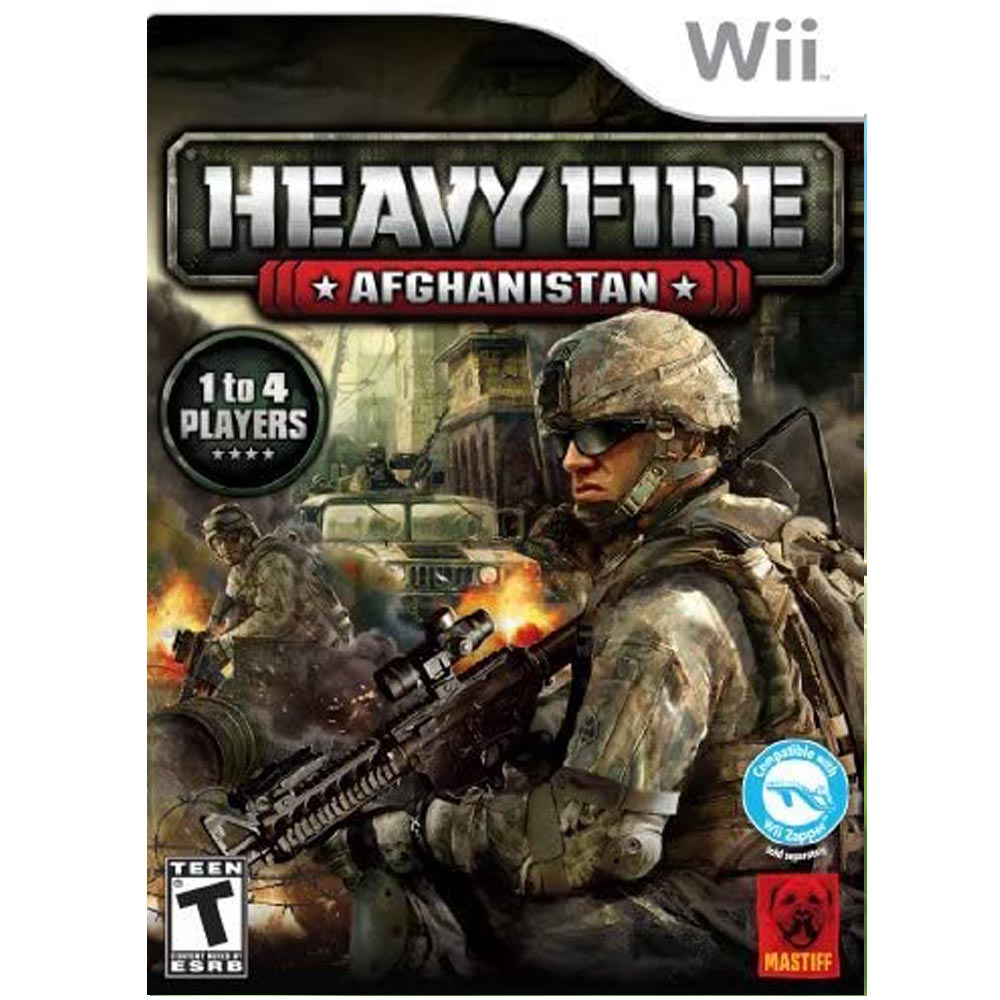 Heavy Fire Afghanistan - USATO - Wii
