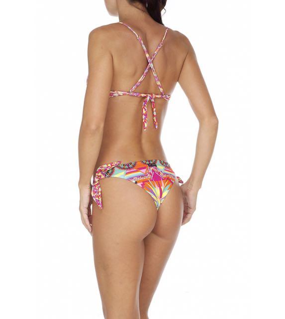Bikini reggiseno e slip nodi regolabile Miami