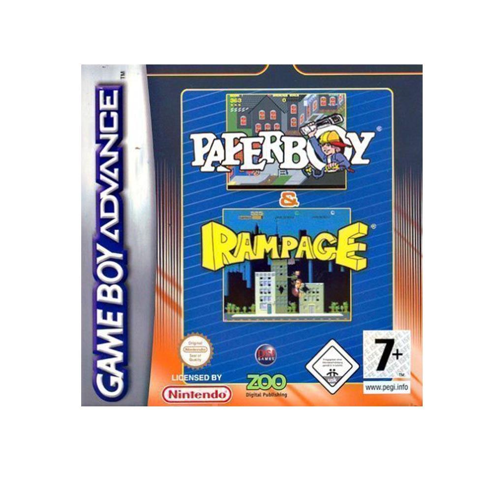 Paperboy & Rampage - USATO - GBA