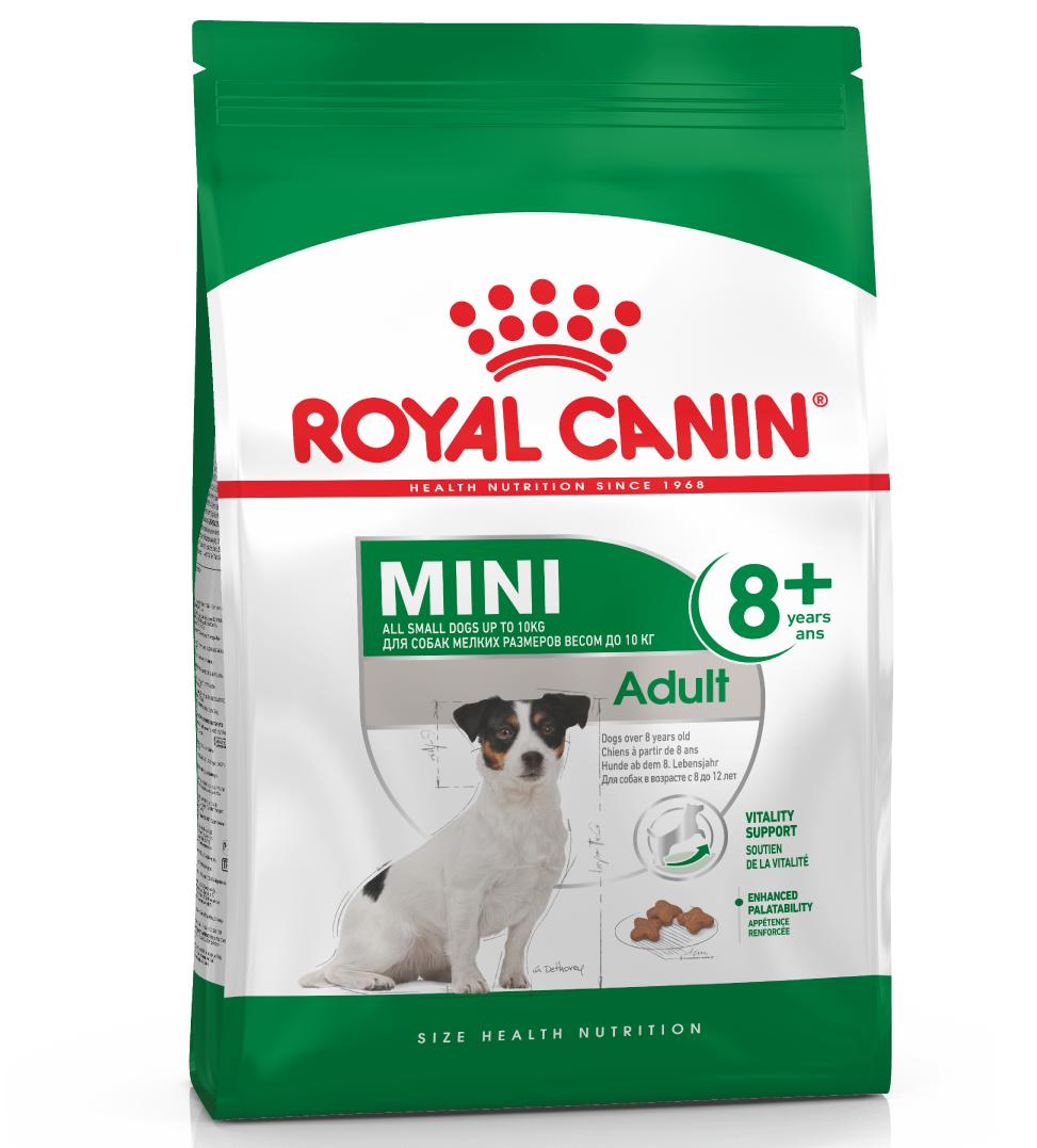 Royal Canin - Size Health Nutrition - Mini Adult 8+ - 8 kg