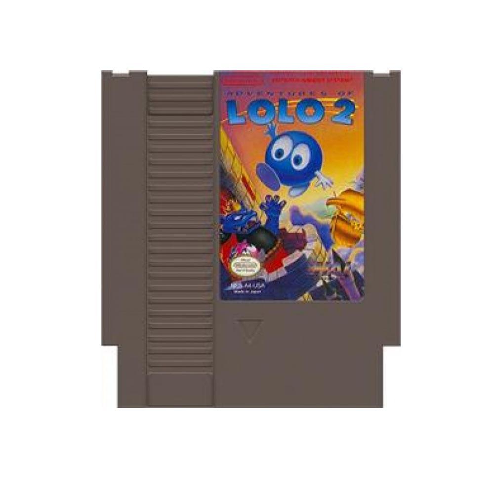 Adventures of LOLO 2 - loose - USATO - NES