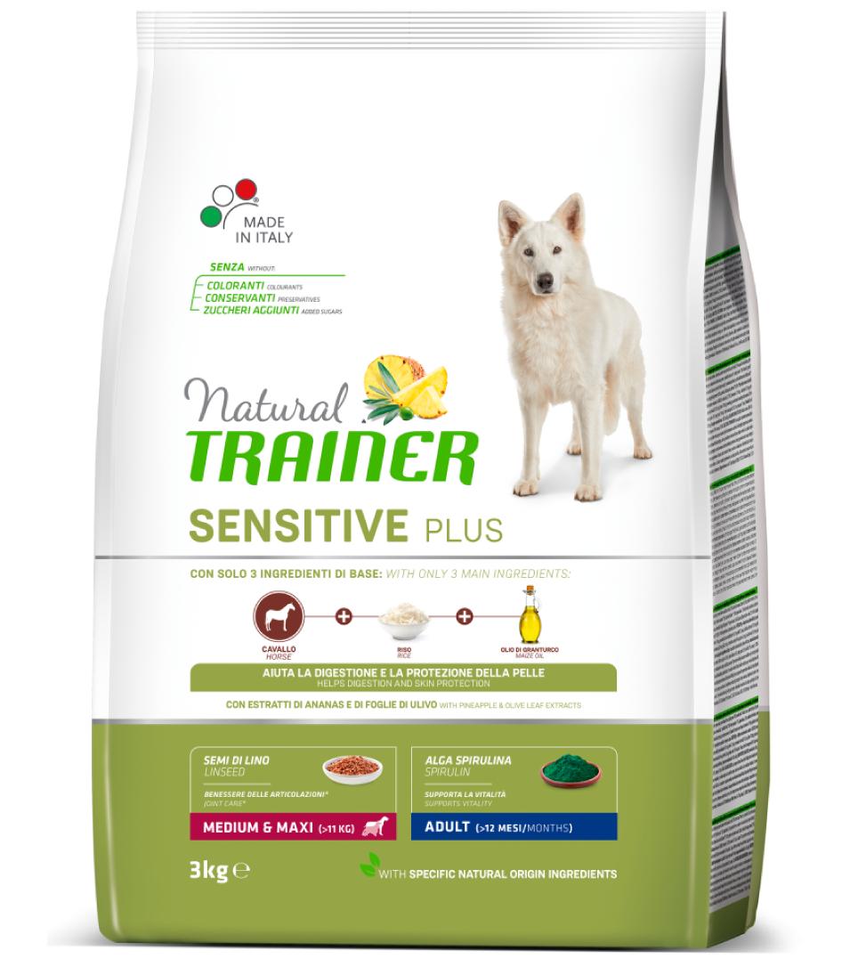 Trainer Natural Sensitive Plus - Medium/Maxi - Adult - 3 kg