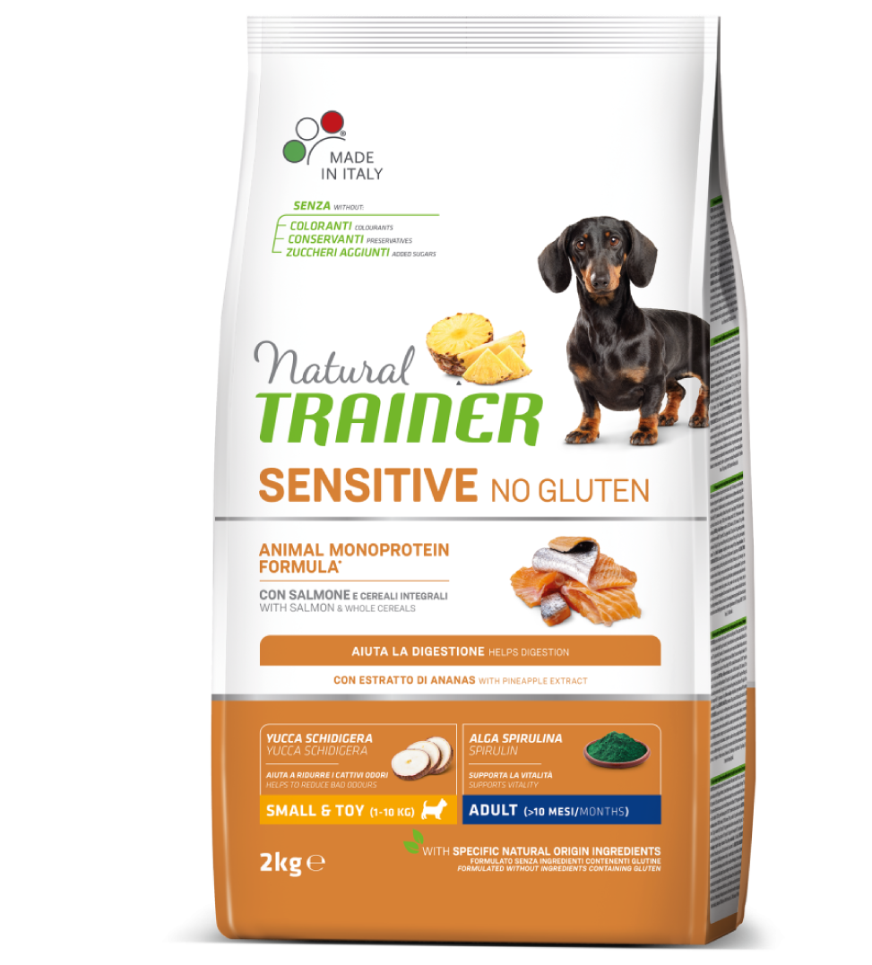 Trainer Natural Sensitive - Small&Toy - Adult - 7 kg