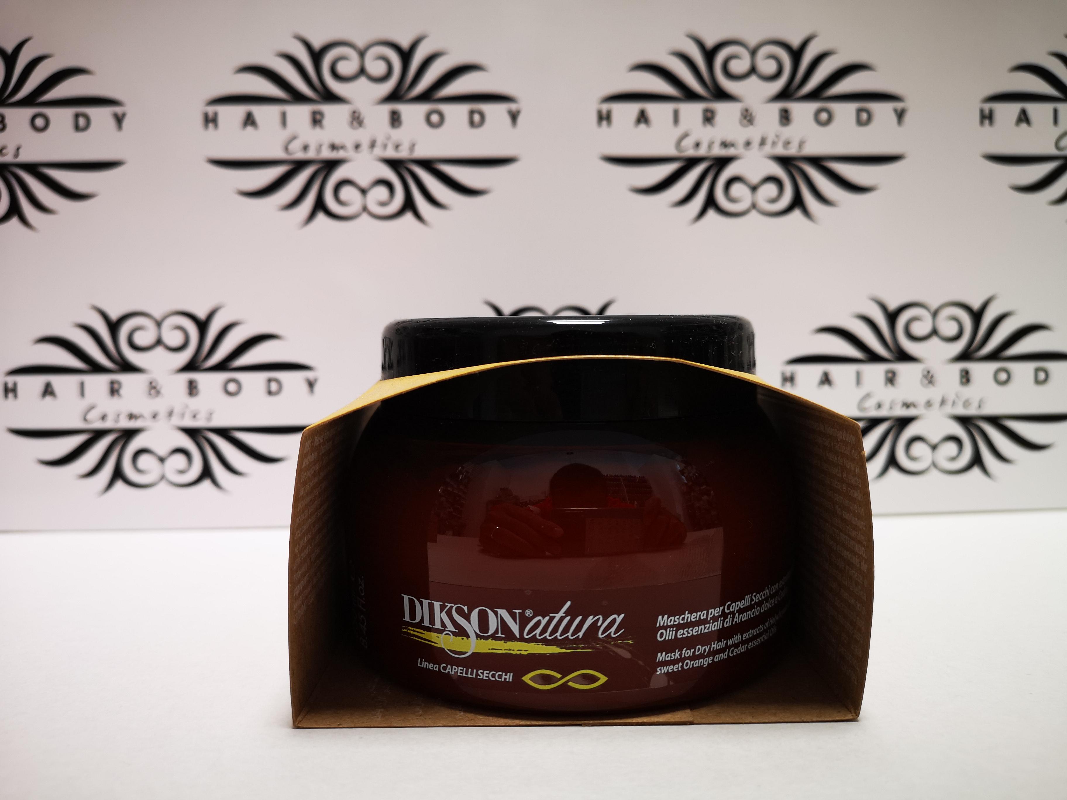 DIKSONATURA - Maschera per capelli secchi e colorati da 250ml