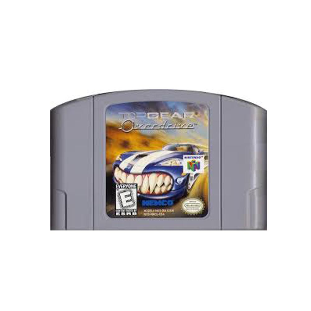 Top Gear Overdrive - loose - USATO - N64