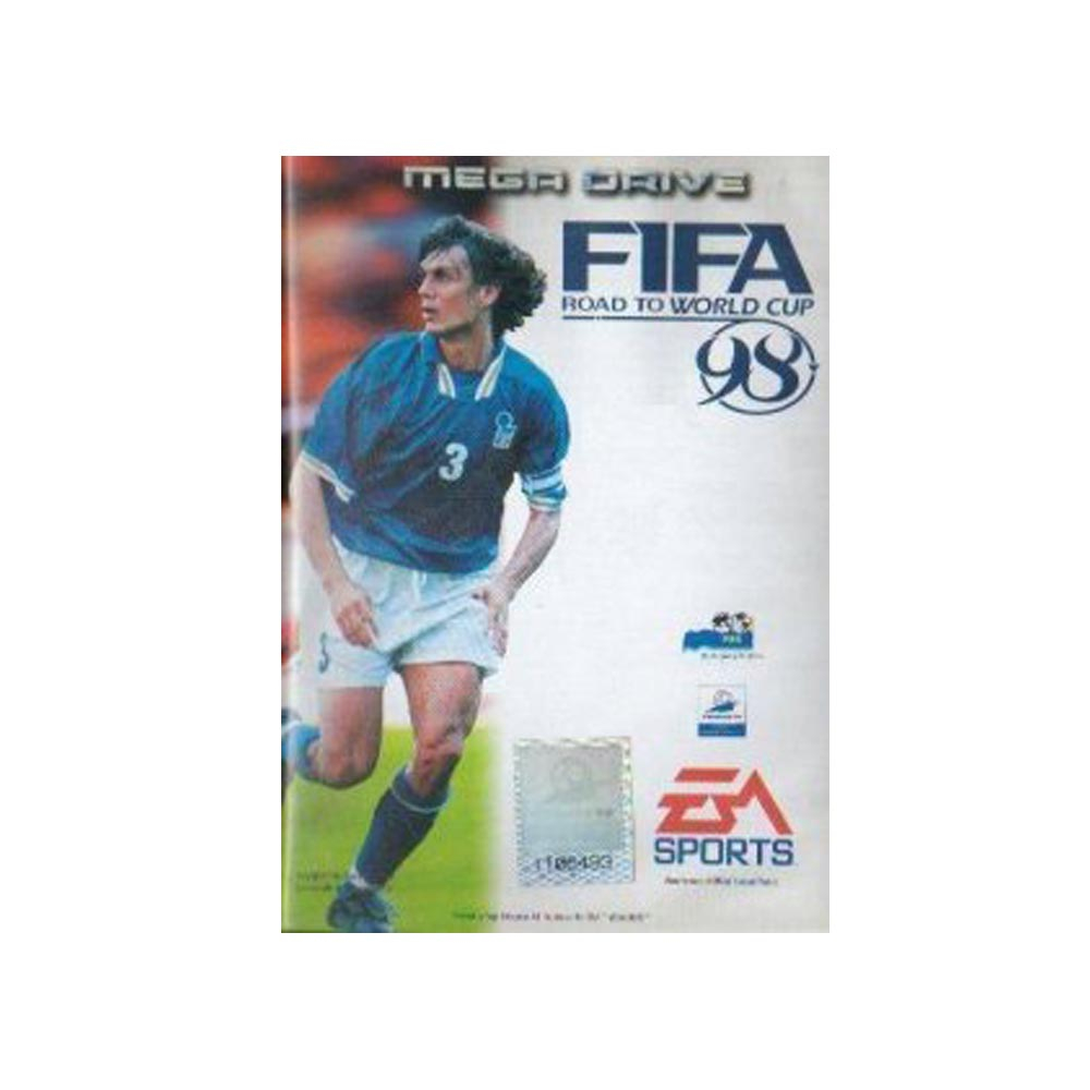 Fifa 98 road to world cup - USATO - MEGADRIVE