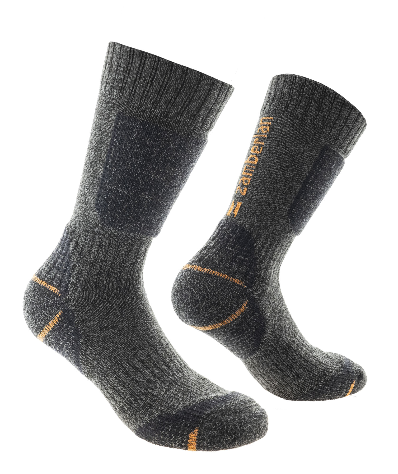 HIKING SOCKS ZAMBERLAN® BACKPACKING SCREE - Grey