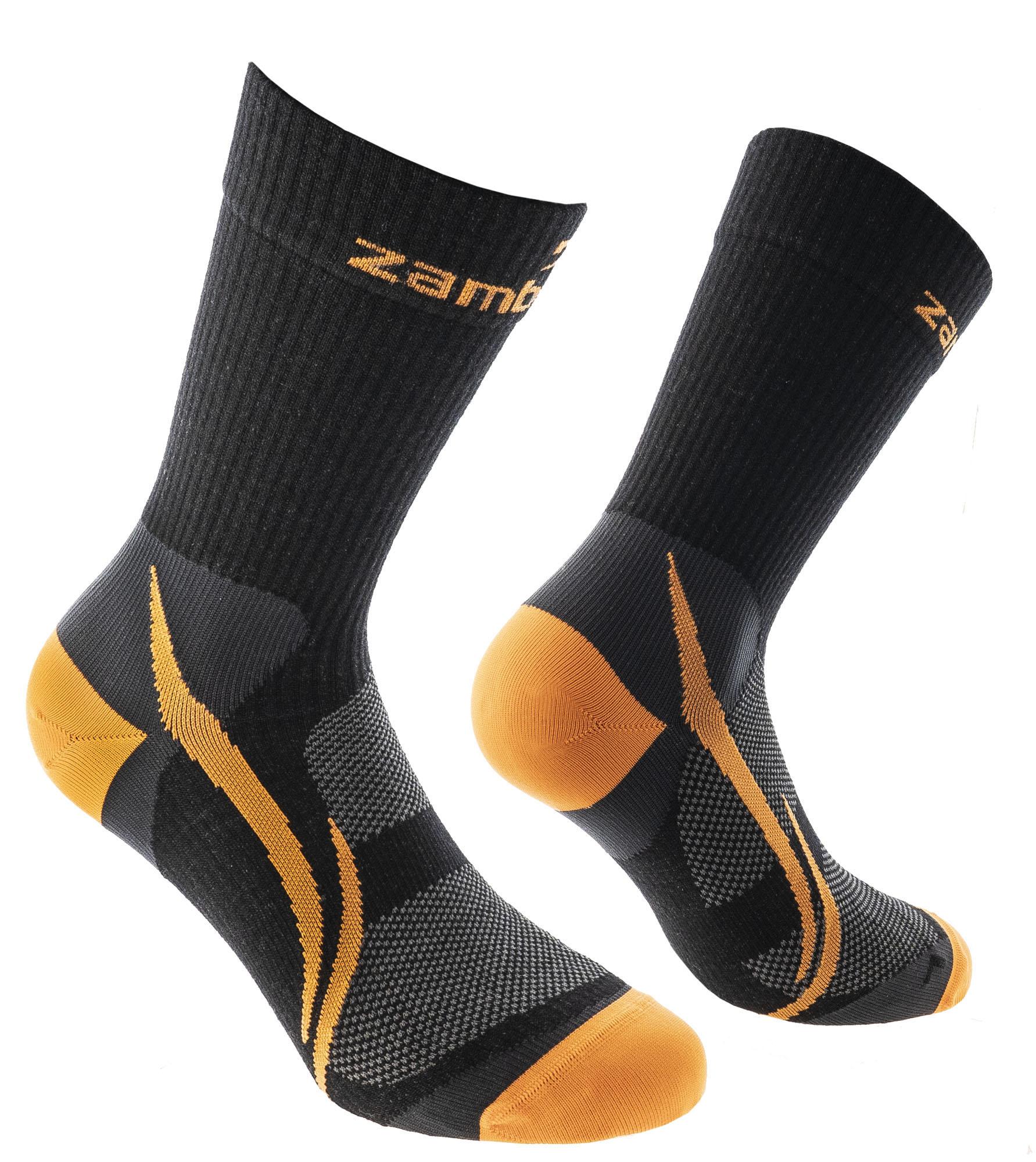CALZE ZAMBERLAN® TRAIL LITE PATH - Black/Orange