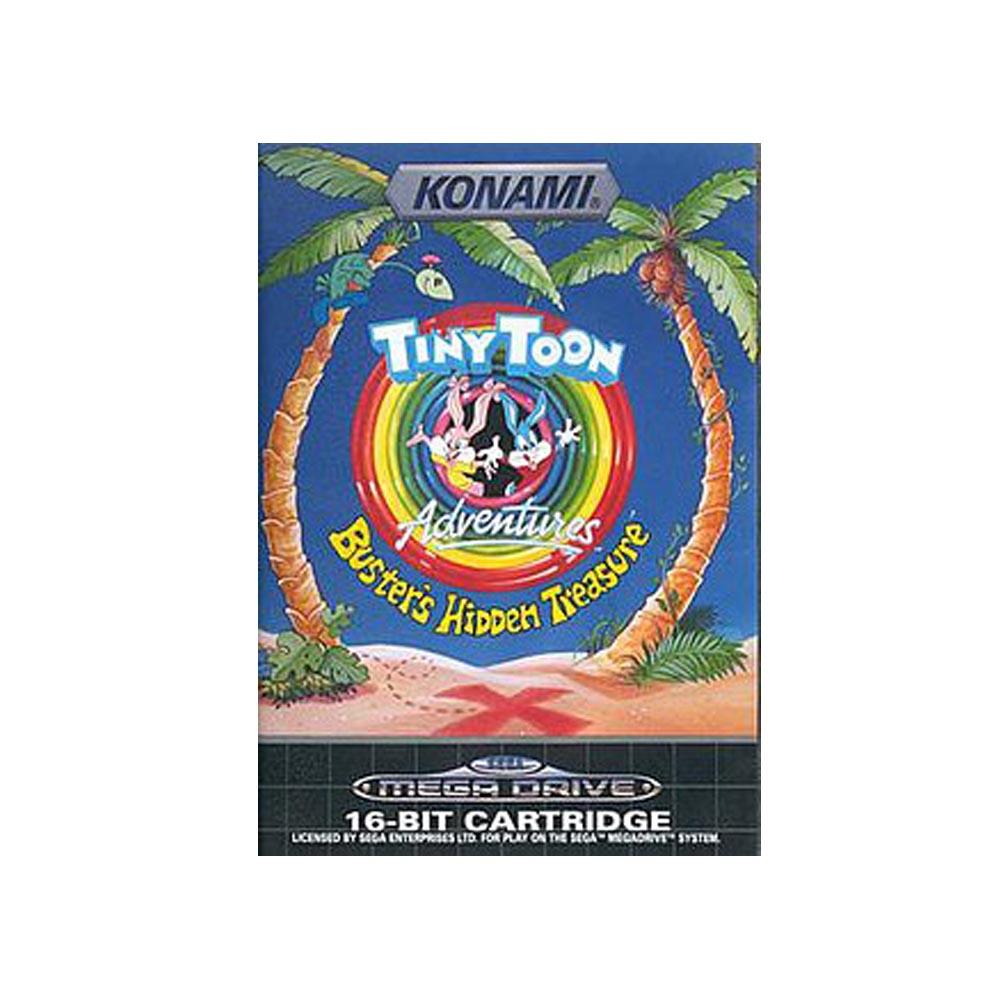 Tiny Toon Adventures: Buster's Hidden Treasure - USATO - MEGADRIVE