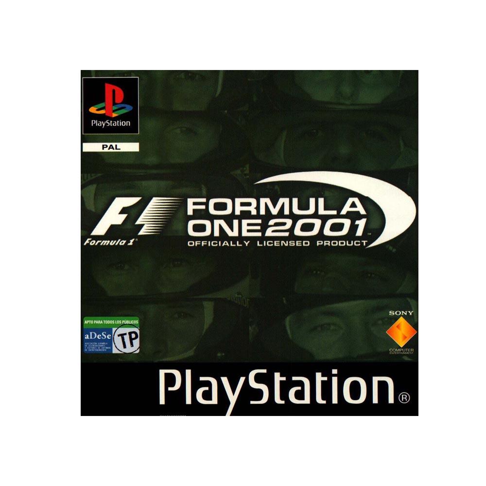 Formula One 2001 - USATO - PS1