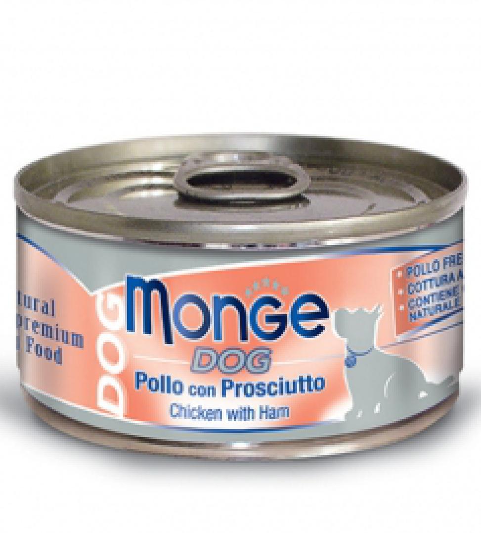 Monge Dog - Natural Superpremium - Sfilaccetti - 95g x 24 lattine