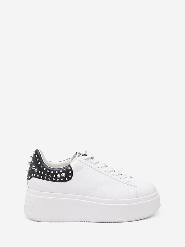 Sneakers Mobystuds nappa white ASH