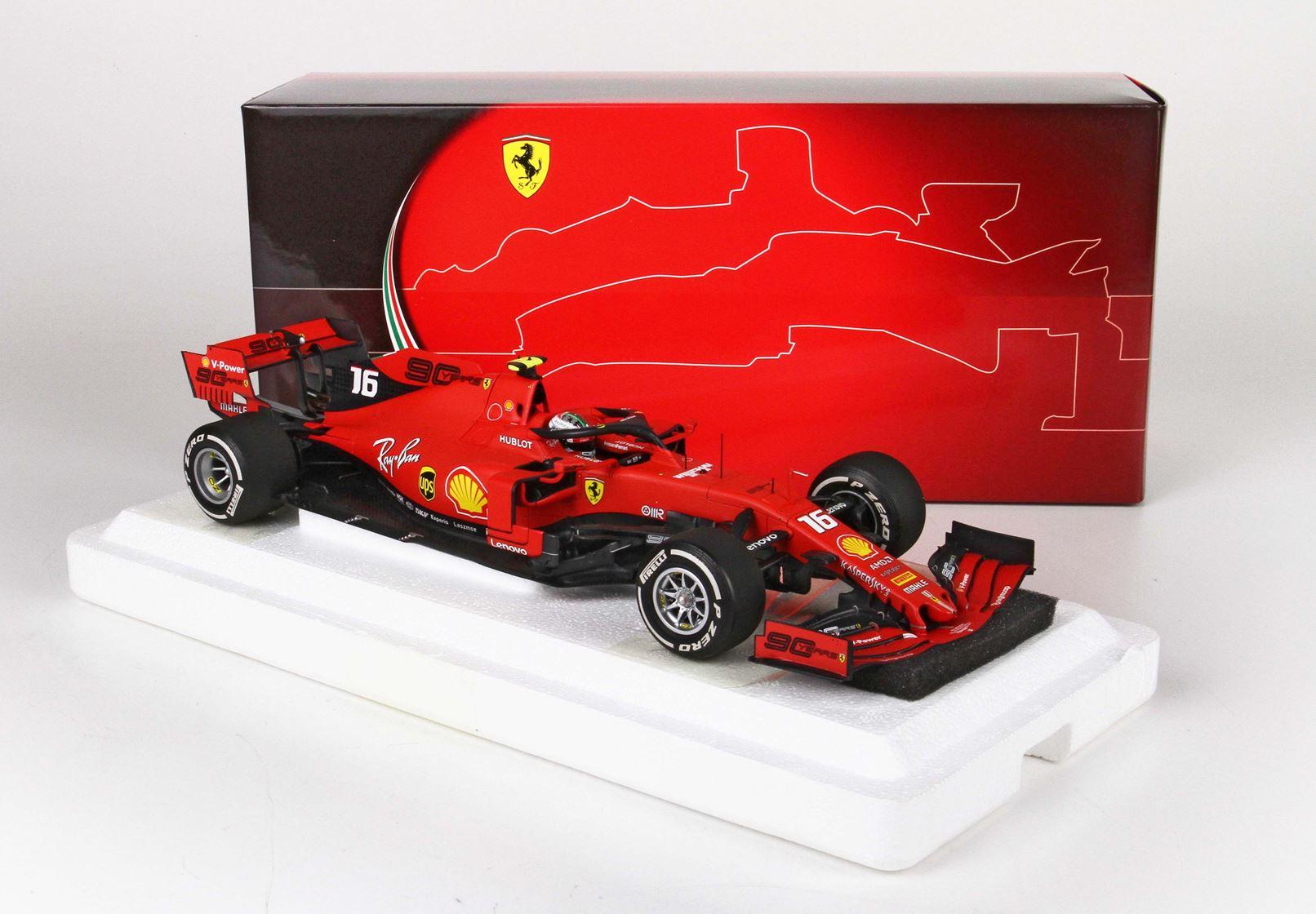 Ferrari SF90 GP Italy Monza 2019 Charles Leclerc 1/18 BBR