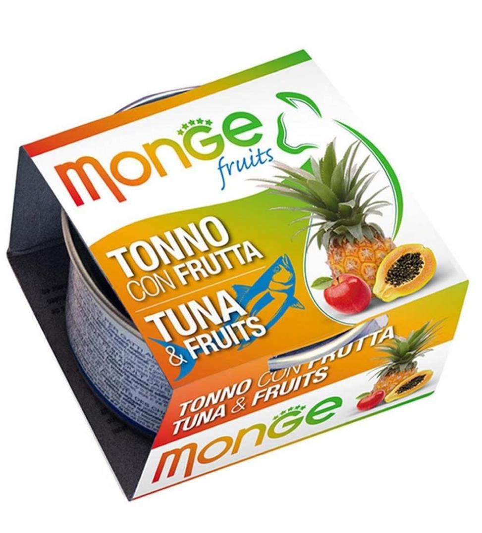Monge Cat - Fruits - Adult - 80g x 6 lattine