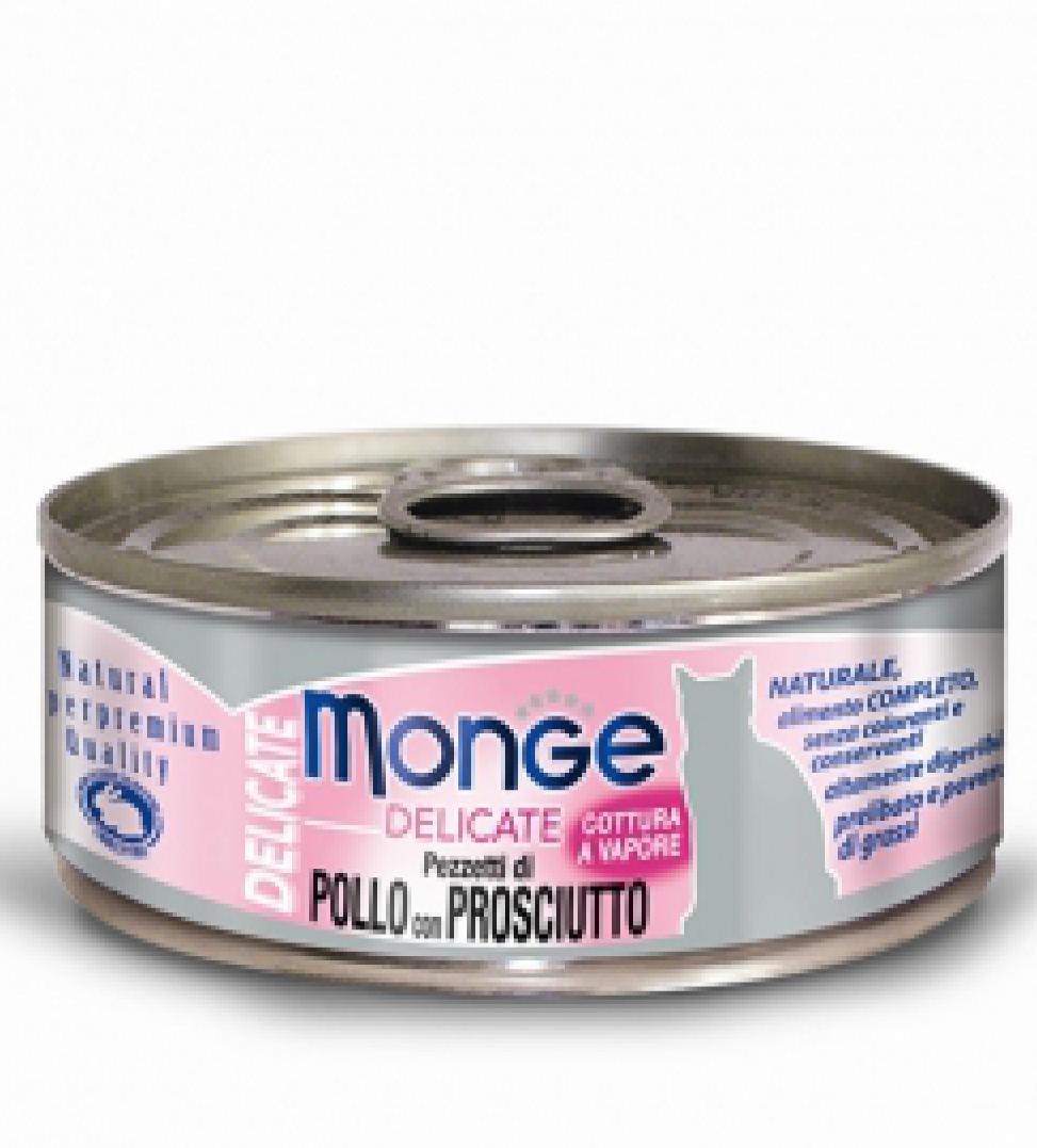 Monge Cat - Natural Superpremium - Delicate 80g x 24 lattine