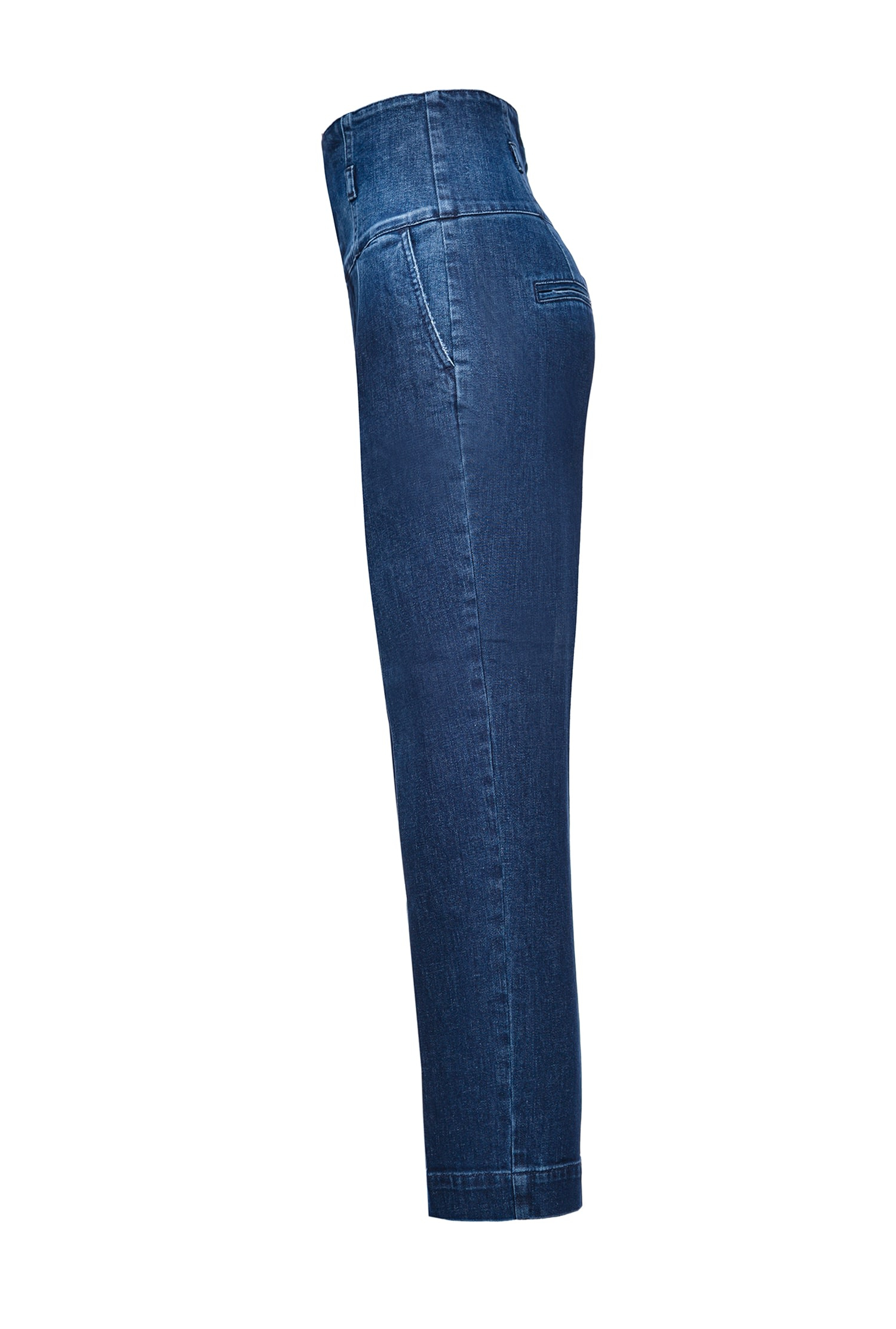 SHOPPING ON LINE PINKO JEANS CHINOS CON VITA ALTA A BUSTIER ARIEL 3 NEW COLLECTION WOMEN'S FALL WINTER 2020/21