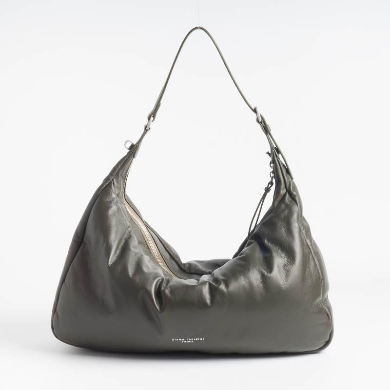 Borsa pelle supersoft nera GIANNI CHIARINI