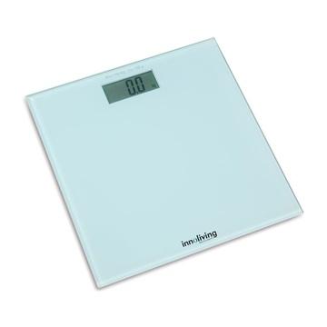Innofit INN-107 Bilancia pesapersone elettronica Quadrato Bianco