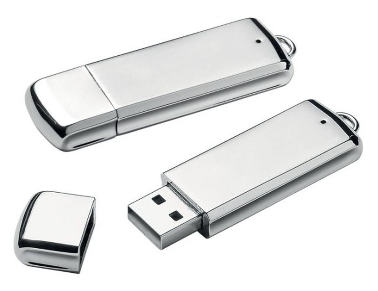 USB rettangolare 8gb cm.6x1,7x1h