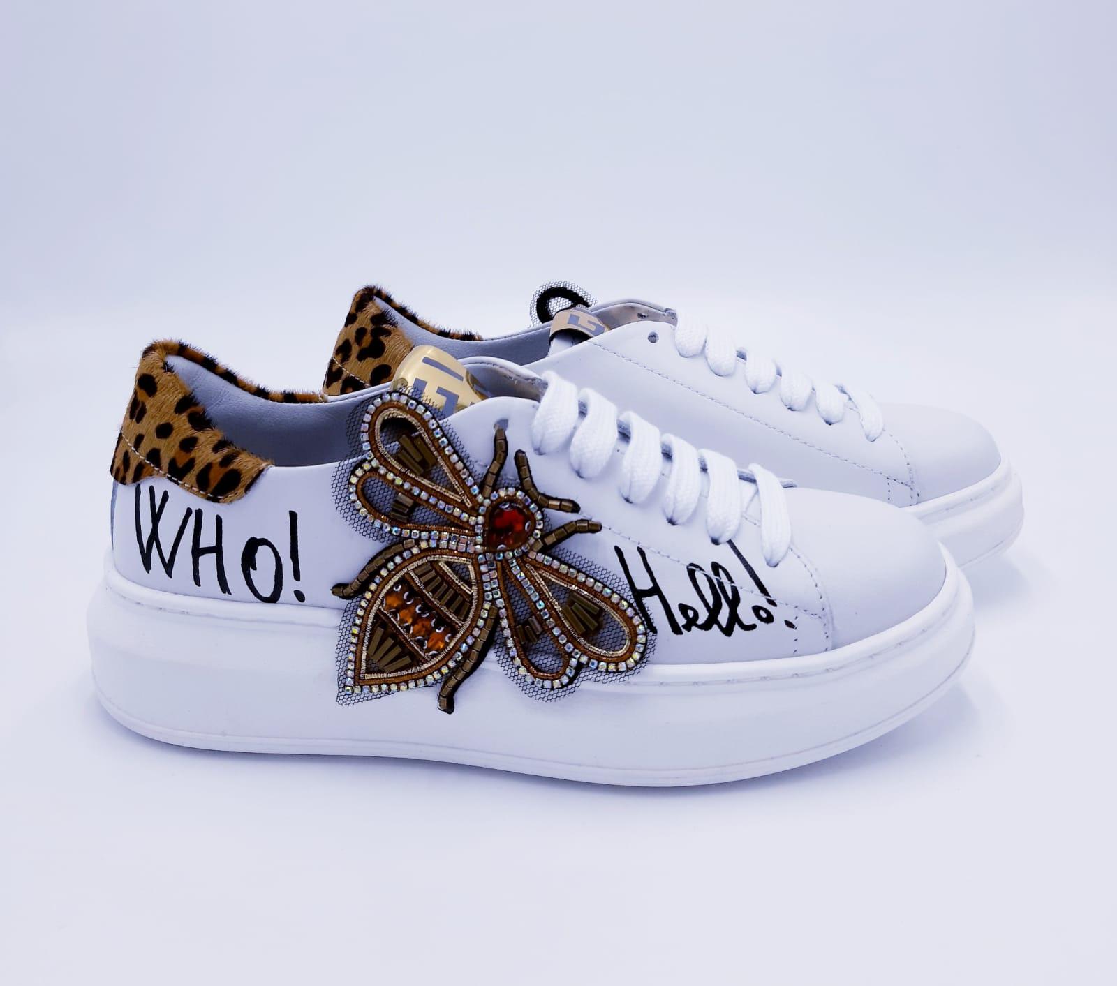 Sneakers con ape GIO+
