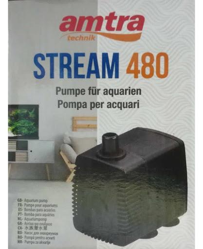 AMTRA STREAM 480,700, 1300 Pompe ad immersione per acquari, terrari e fontane.