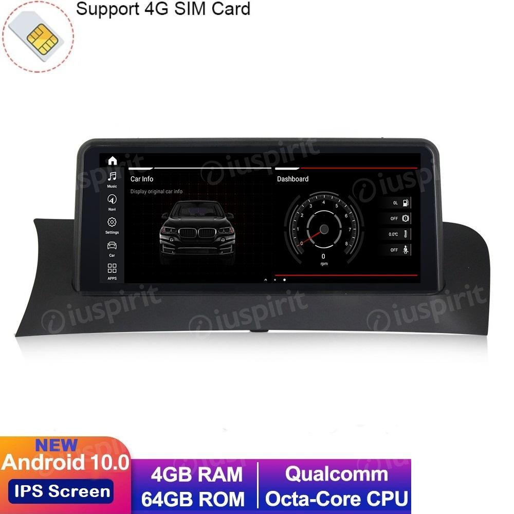 ANDROID 10 navigatore per BMW X3 F25 BMW X4 F26 2014-2016 Sistema NBT 10.25 pollici WI-FI GPS 4G LTE Bluetooth MirrorLink 4GB RAM 64GB ROM