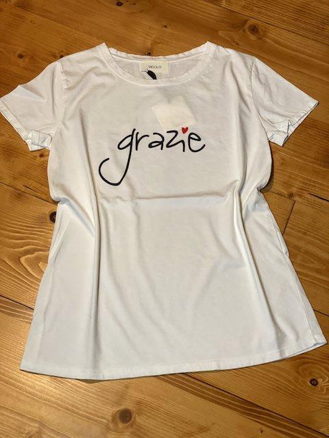 T-shirt Vicolo GRAZIE