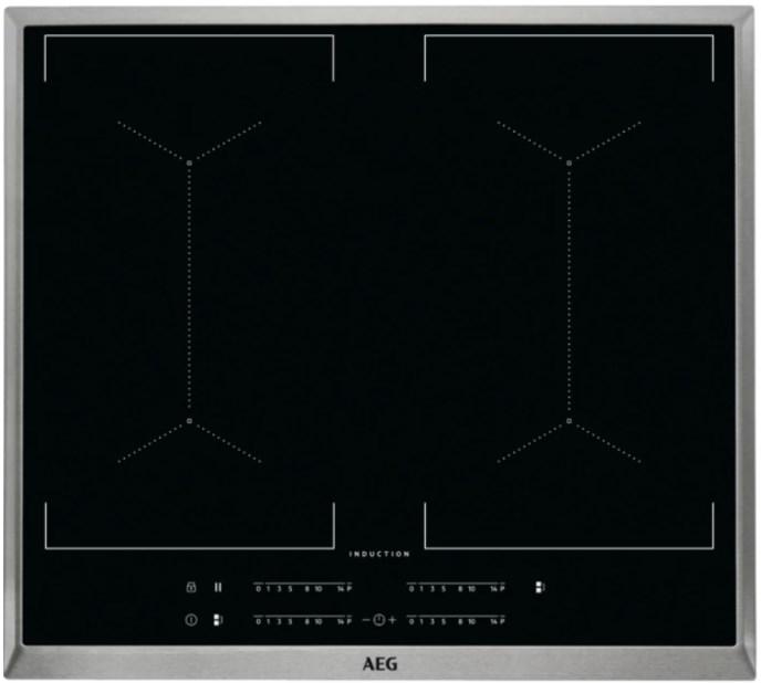 AEG IKE64453XB Nero Da incasso 60 cm A induzione 4 Fornello(i)