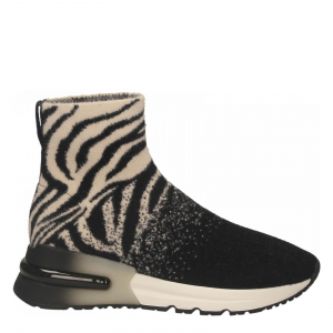 Sneakers Koni02 black zebra ASH