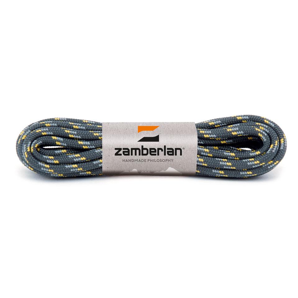 ZAMBERLAN® REPLACEMENT ROUND BOOT LACES    -   Grey / Yellow